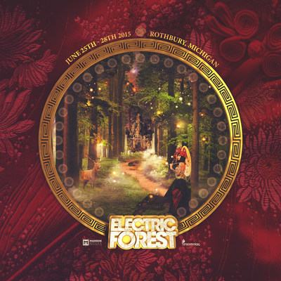 5th Annual Electric Forest Festival, June 25-28, 2015