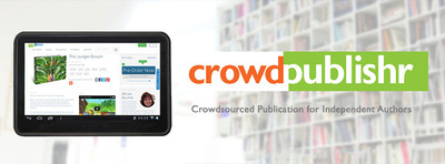 Crowdpublishr allows you to promote book ideas to potential readers, pre-sell copies to fund the up-front editorial and promotional investment, use a technology-enabled workflow to refine, lay out and publish, crowd fund or just use our platform, and keep the funds you raise and apply them towards publishing, even if you don't meet your goal use our video and social media tools to promote and sell the finished work Create Your Free Account.  (PRNewsFoto/Crowdpublishr)