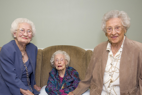 Brookdale and Wish of a Lifetime(TM) grant a Wish to Rose Shloss to see her sisters again after 10 years. From ...