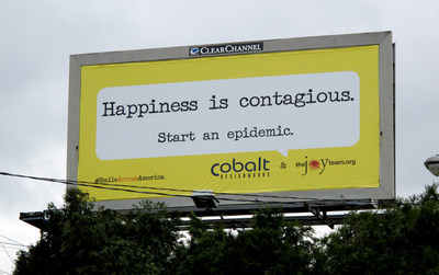 56 Happy Billboards Put a Smile Across America for International Day of Happiness