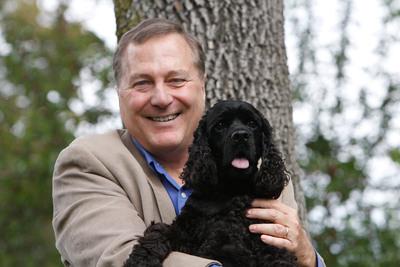 Allen Anderson and Leaf.  (PRNewsFoto/Allen and Linda Anderson)