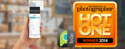 PPA Hot One Award - PhotoBizToGo App (PRNewsFoto/PhotoBiz)