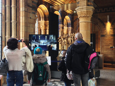 Sky Selects Ultra-D Glasses-Free 3D Screens To Promote DAVID ATTENBOROUGH'S NATURAL HISTORY MUSEUM ALIVE 3D