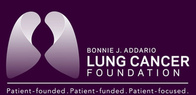 Bonnie J. Addario Lung Cancer Foundation Logo.  (PRNewsFoto/Bonnie J. Addario Lung Cancer Foundation)