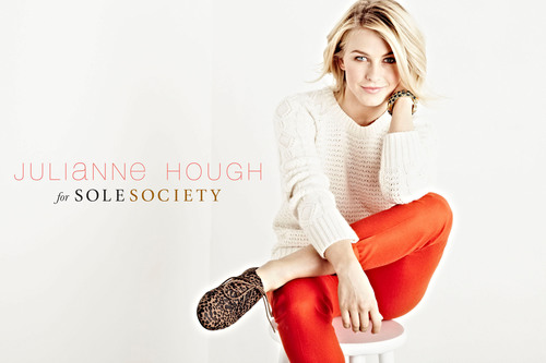 8abd5c21784 ... a partnership with Nordstrom.com and select Nordstrom stores where the Julianne  Hough for Sole Society collection will be sold alongside other exclusive ...