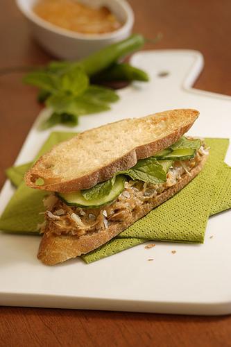 The Bangkok Peanut Butter Sandwich.  (PRNewsFoto/Southern Peanut Growers)
