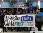 Lowes Toolbox for Education awarded $1.4 million in grants to over 350 schools during the fall 2013 grant cycle.  (PRNewsFoto/Lowes)