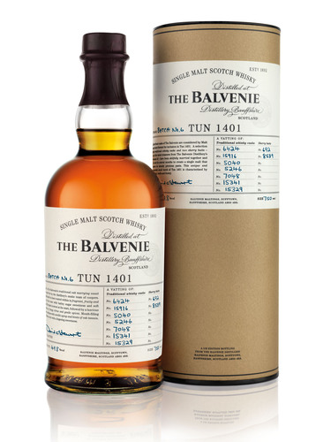The Balvenie Releases the Sixth Batch in the Handcrafted Tun 1401 Series