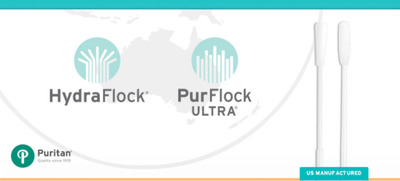 Puritan Medical Products awarded two new flocked swab patents in Australia for HydraFlock and PurFlock Ultra.  (PRNewsFoto/Puritan Medical Products)