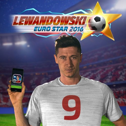 "Polish striker Robert Lewandowski and Fuero Games are teaming up ahead of the European championships in France to give fans a taster of what it takes to be a world-class football player. In Lewandowski: Euro Star 2016, available on iOS and Android, they can challenge friends to a keepie-uppie rivalry. ""At every warm-up, we do hundreds of keepie-uppies developing ball control skills that give us the decisive edge on the pitch. I hope fans will enjoy the game,"" Lewandowski said. (PRNewsFoto/Fuero Games)"