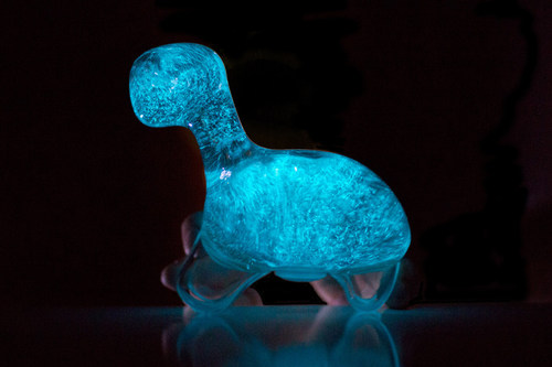 Biopop Releases A Living Bioluminescent Dinosaur The