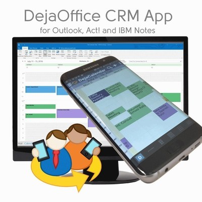 DejaOffice CRM App for Outlook, Act! and Lotus Notes