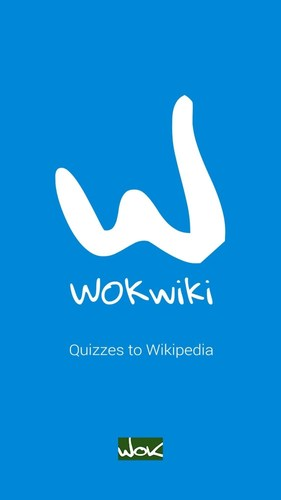 WOKwiki app turns Wikipedia into a quiz game so you can play against your friends in all articles. (PRNewsFoto/WOKwiki) (PRNewsFoto/WOKwiki)