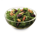 The new Chick-fil-A Superfood Side is a blend of hand-chopped kale and Broccolini(R), tossed in a sweet and tangy maple vinaigrette dressing, topped with flavorful dried sour cherries and served with a blend of roasted nuts.