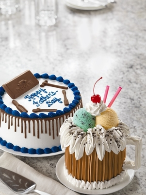 Baskin-Robbins Celebrates Dads And Grads With Delicious And Festive Ice Cream Cakes And New June Flavor Of The Month (PRNewsFoto/Baskin-Robbins)