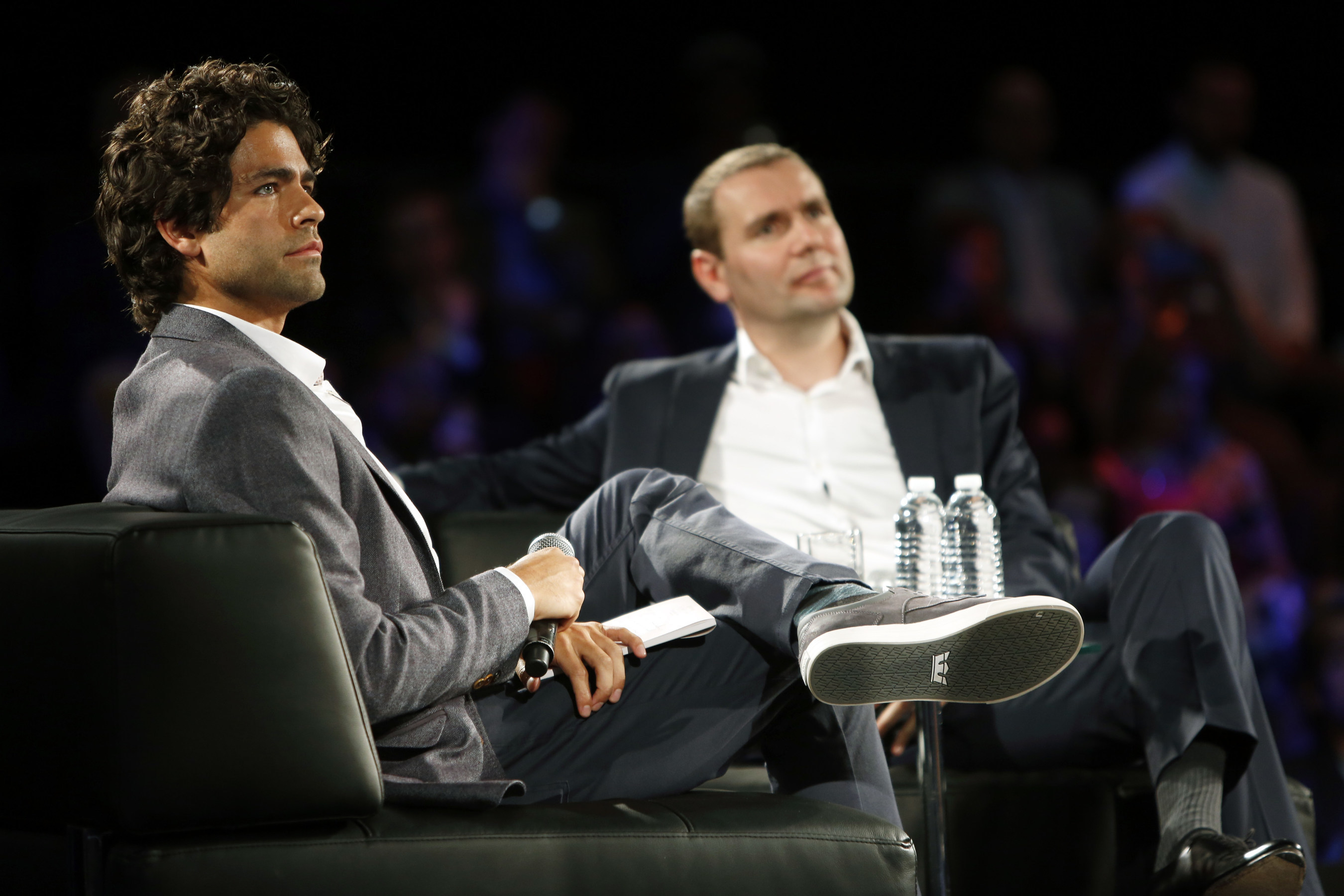 Adrian Grenier and Alexandre Ricard at The Venture