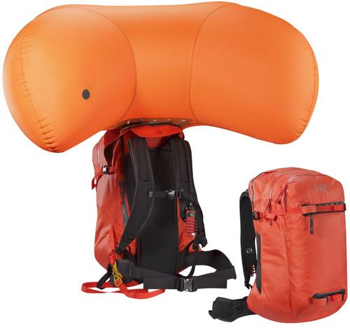 ARC'TERYX advances avalanche airbag technology with new Voltair (PRNewsFoto/Arc'teryx)