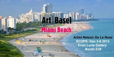 Art Basel Miami Beach.  (PRNewsFoto/Pop Land Publishing)