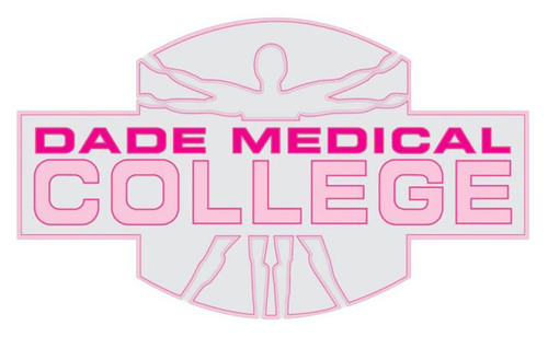 "Dade Medical College ""Go Pink"" campaign logo.  (PRNewsFoto/Dade Medical College)"
