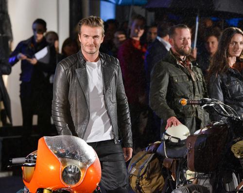 David Beckham attends opening of Belstaff House September 15th 2013 London, England. (PRNewsFoto/Belstaff) (PRNewsFoto/BELSTAFF)
