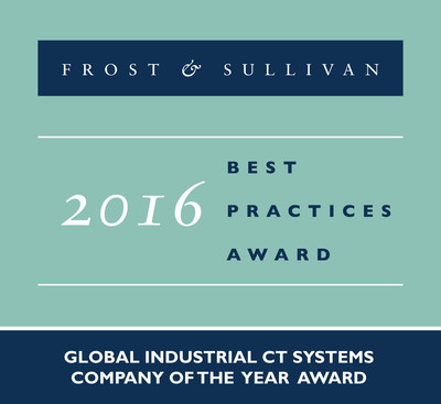 GE Inspection Technologies Receives 2016 Global Industrial Computed Tomography (CT) Systems Company of the Year Award