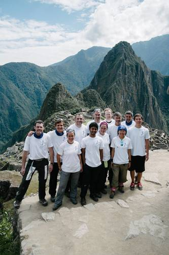 After 5 long days of strenuous trekking at a maximum altitude of 4,600m, an international team of people with type 1 diabetes succeeded in reaching Machu Picchu, the famous Inca site in Peru, South America. The World Diabetes Tour association, in partnership with Sanofi Diabetes, showed that when people with diabetes strive for control, they can achieve extraordinary goals. Link to epresspack: http://www.epresspack.net/T1D-Challenge-Machu-Picchu/type-1-diabetes-challenge-machu-picchu/ (PRNewsFoto/Sanofi Diabetes)