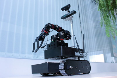 The SentiBotics Development Kit 2.0 helps robotics developers and researchers reduce the time and effort required to develop mobile robots. It provides the basic robot infrastructure, hardware, component-tuning and robotic software functionality required to build mobile robots with object recognition, navigation, grasping, object delivery and other higher level behaviors.