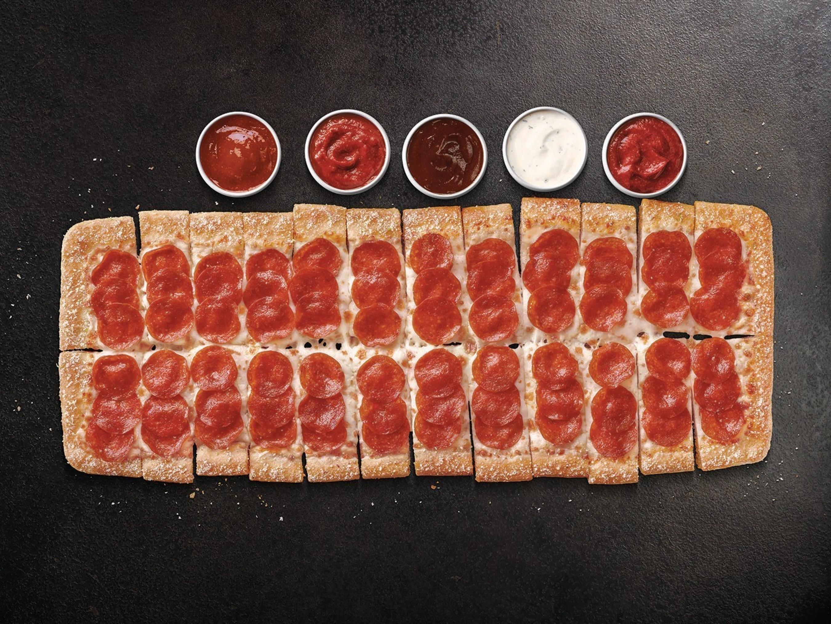 Pizza Hut Big Flavor Dipper Pizza