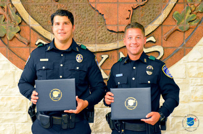 The National Law Enforcement Officers Memorial Fund has selected Officers Ed Pietrowski and Michael Sarro, of the Euless (TX) Police Department, as the recipients of its Officer of the Month Award for August 2016.