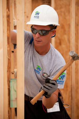 Volunteers and supporters helped Habitat for Humanity serve more than 81,000 families during its 2011 fiscal year.  (PRNewsFoto/Habitat for Humanity International)