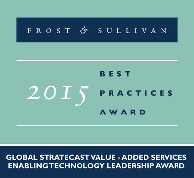 Huawei Technologies Receives 2015 Global Stratecast Value-Added Services Enabling Technology Leadership Award
