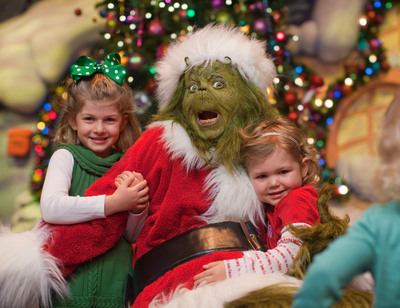 Universal Orlando Resort transforms into a seasonal spectacular every December, featuring special holiday-themed entertainment including the Macy's Holiday Parade and Grinchmas, special decorations, food and more.  This year's Holidays Celebration begins December 1.  (PRNewsFoto/Universal Studios Florida)