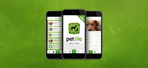 Bayer Launches New App for Pets Healthcare (PRNewsFoto/Bayer)