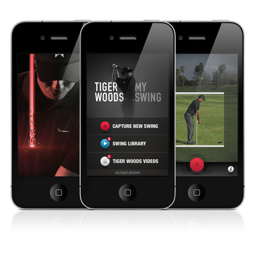 Tiger Woods Foundation and Shotzoom Launch Official Tiger Woods: My Swing for iPhone