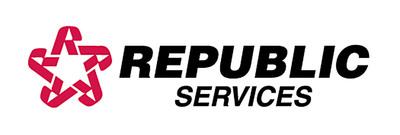 Republic standard logo-2009 (PRNewsFoto/Republic Services, Inc.)