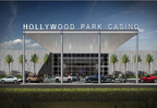 A rendering of the new Hollywood Park Casino in Inglewood, Calif., as part of the City of Champions Revitalization project, which will also later include the Los Angeles Rams NFL stadium.