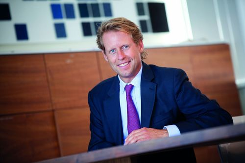 Benoeming van Alexander Collot d'Escury als CEO van Desso