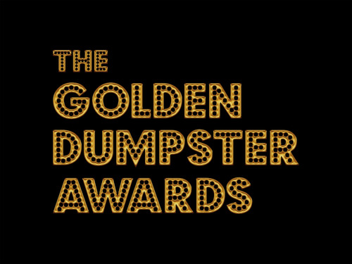 The First Annual Golden Dumpster Awards celebrate advances in Green Film Making.  30 Rock, Focus Features, Big Beach Films among the winners.  (PRNewsFoto/Film Biz Recycling)