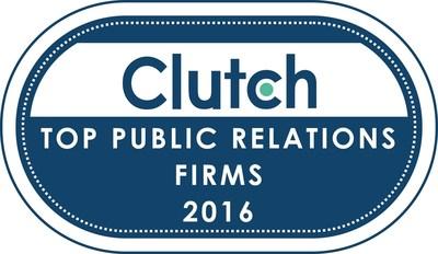 Clutch Identifies Top Public Relations Firms of 2016