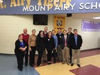 ADP Greater Cincinnati employees volunteer with Accounting for Kids to teach finance fundamentals at the Mt. Airy Elementary School.