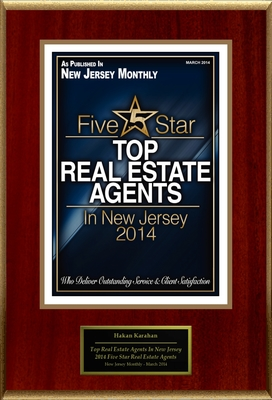 "Hakan Karahan Selected For ""2014 Top Real Estate Agents In New Jersey"" (PRNewsFoto/American Registry)"