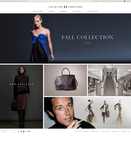 HALSTON Launches Digital Flagship