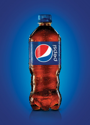 Pepsi unveils a new single-serve bottle for its Pepsi trademark portfolio, its first packaging update in 16 years. (PRNewsFoto/PepsiCo) (PRNewsFoto/PEPSICO)
