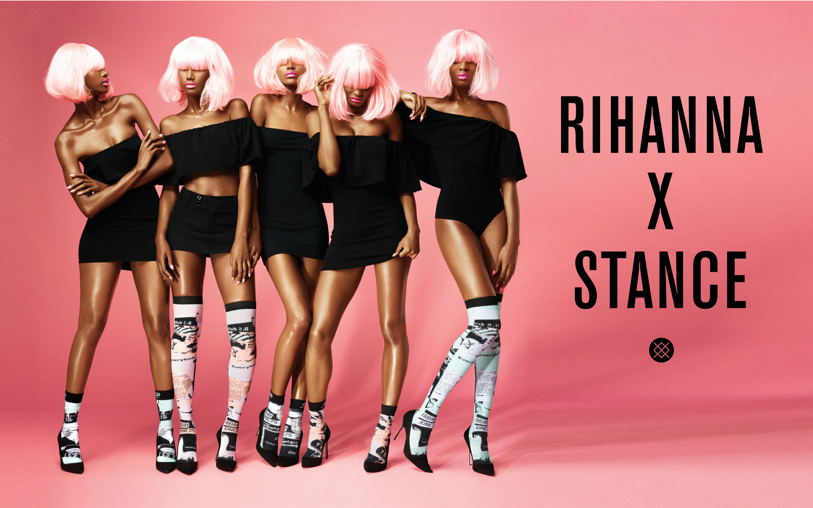 927fd680c6a Today Stance released Rihanna s first seasonal sock collection and unveiled  the campaign Rihanna directed for her ...