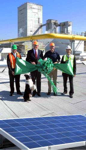 Nestle Purina's Atlanta Facility Unveils Company's Largest Solar Array