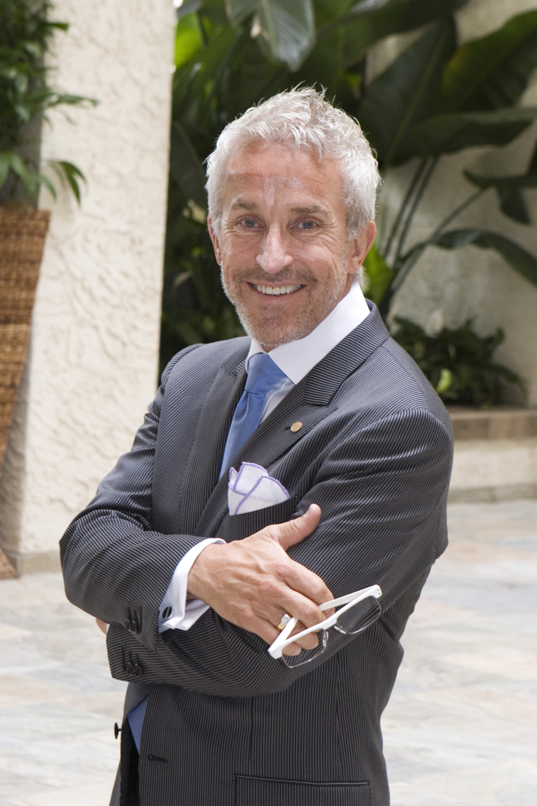 Roger Thomas, principal of The Roger Thomas Collection and executive vice president of Wynn Design and ...