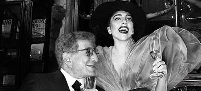 Tony Bennett and Lady Gaga (PRNewsFoto/Live Nation)