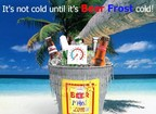 Beer Frost Is the Solution to Man's Quest for a Frosty Cold Drink