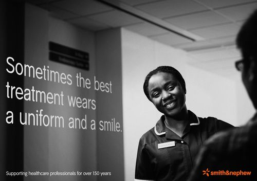 Championing our healthcare professionals: Smith & Nephew launches awareness campaign (PRNewsFoto/Smith & Nephew plc)