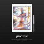 Procreate 2.3 is now compatible with Wacom's Intuos Creative Stylus 2.